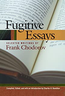 High School Senior Essay Fugitive Essays Selected Writings Of Frank Chodorov How To Write An Essay With A Thesis also Sample Business Essay The Rise And Fall Of Society An Essay On The Economic Forces That  Persuasive Essay Sample High School