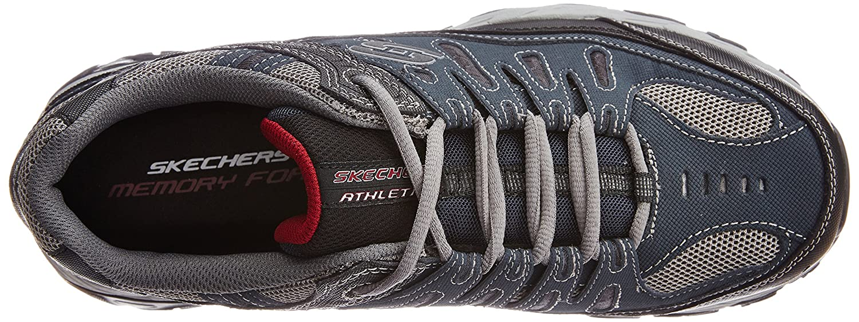 Skechers-Afterburn-Memory-Foam-M-fit-Men-039-s-Sport-After-Burn-Baskets-Chaussures miniature 61