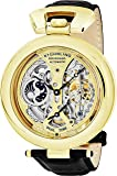 Stuhrling Original Men's 127A.333531 Emperor's Grandeur Analog Automatic Self Wind Black Alligator Embossed Genuine Leather Watch