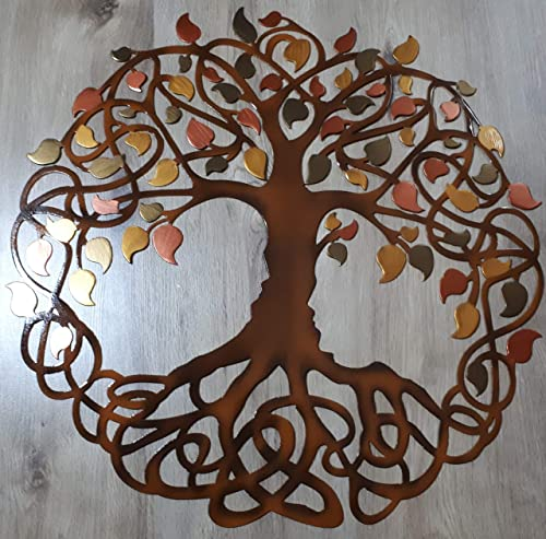 Tree Of Life Metal Art Wall Decor