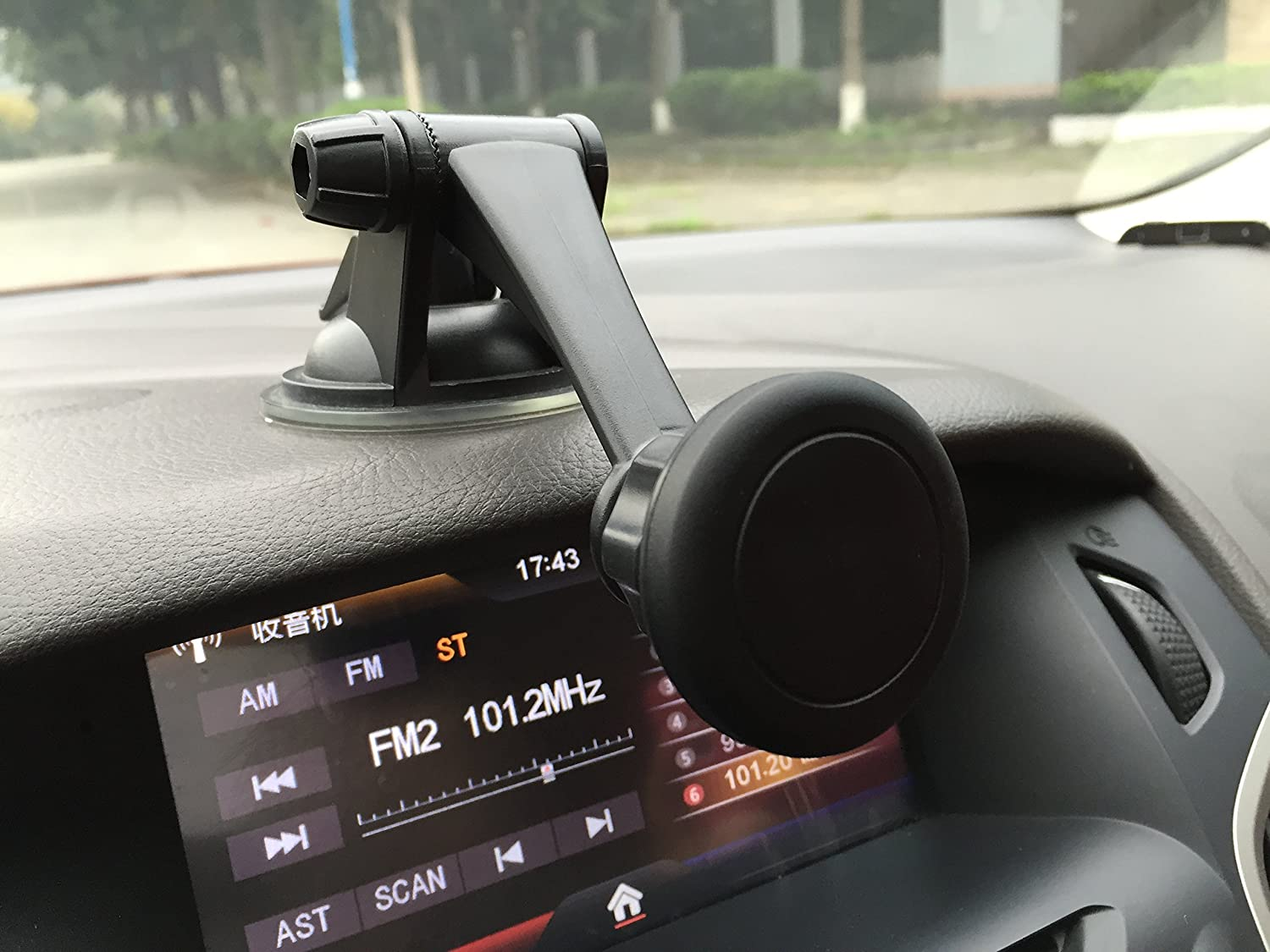 Windshield Desk Etc Grips to Dashboard Gritech Car Mount the Magnetic Cell Phone Mount Holder for Car Home /& Travel Cradle-less For Mobile Phones//tablets//gps//small Tablets Hello2C Mall 4351536499