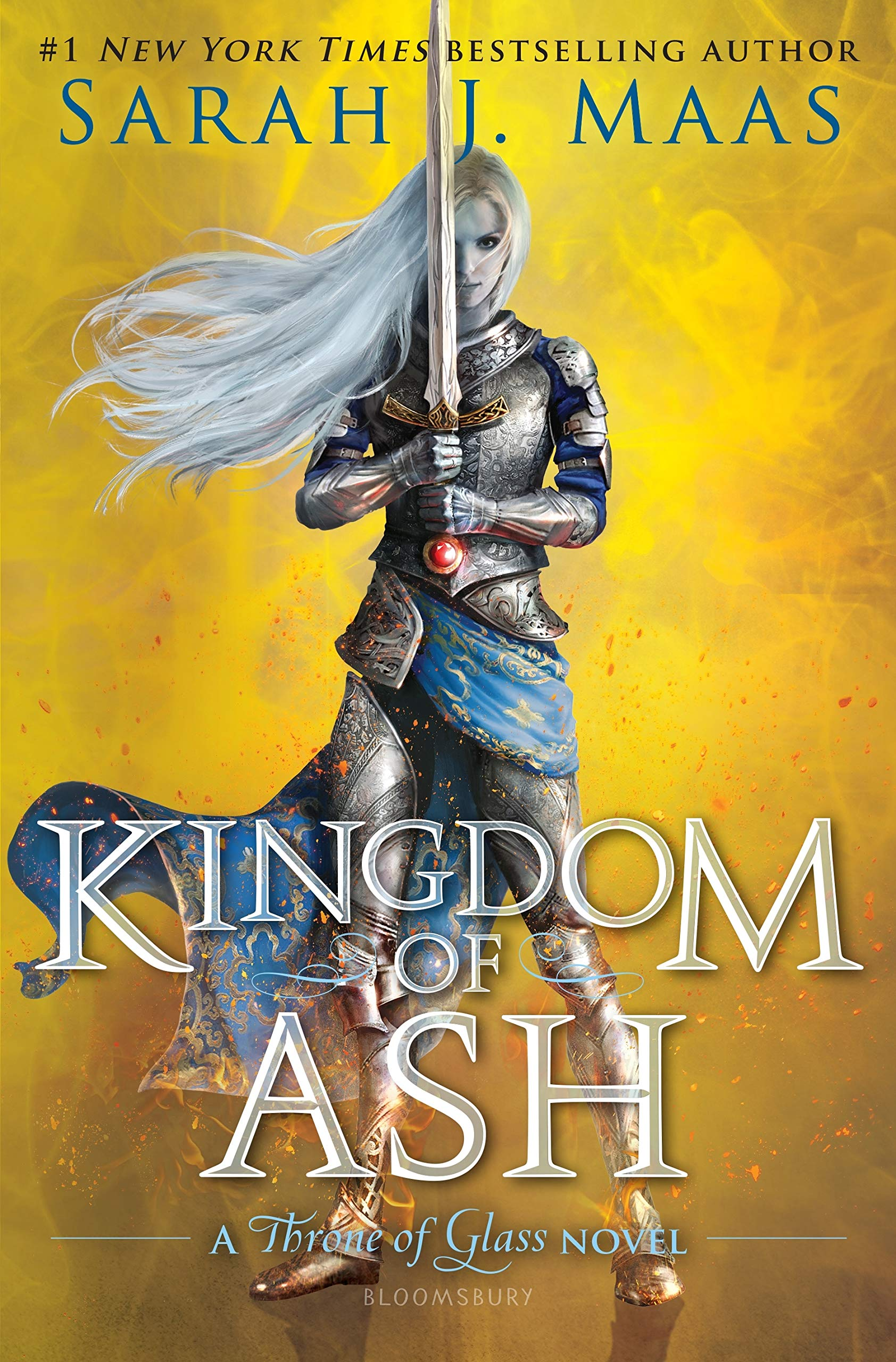 Amazon.com: Kingdom of Ash (Throne of Glass) (9781619636101): Maas ...