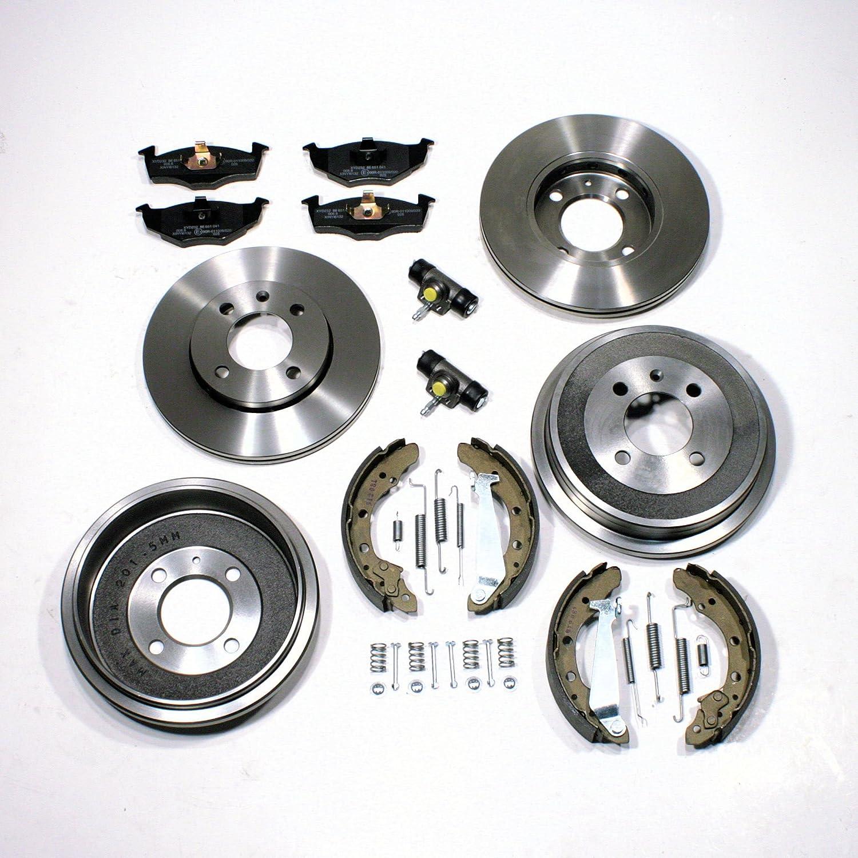 Bremsscheiben//Bremsen Set vorne Bremstrommel Set /Ø 180 mm hinten
