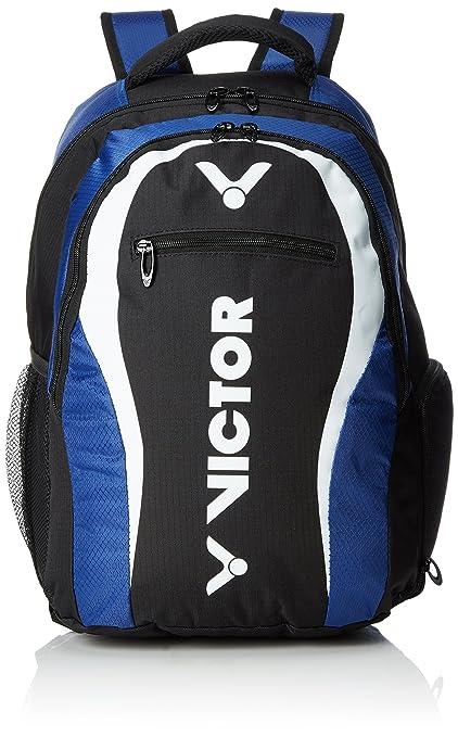 Victor Mochila, Backpack, Funda para bádminton, Raquetas de Squash, Tenis Azul Blau