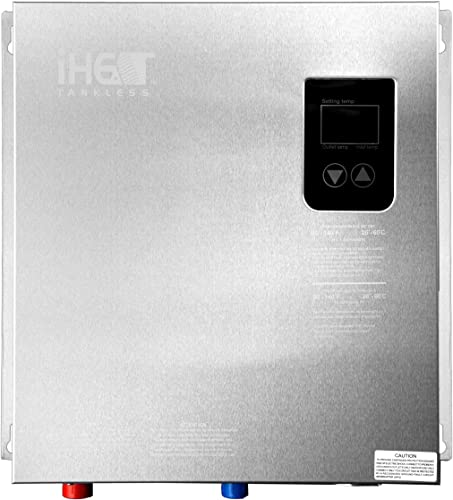 Iheat Electric Tankless Water Heater Model AHS21-D