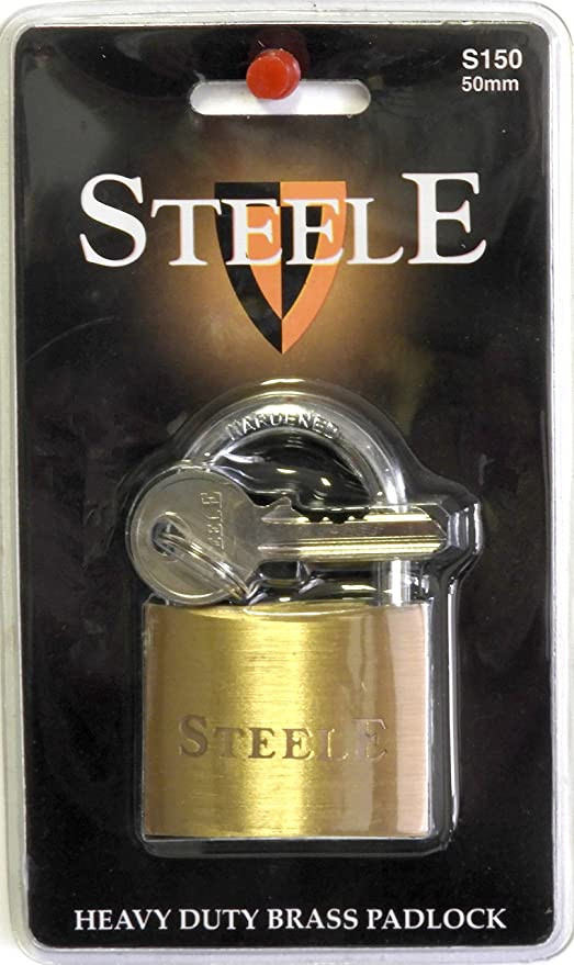 Amazon.com: Steele Heavy Duty Pick resistente candado de ...