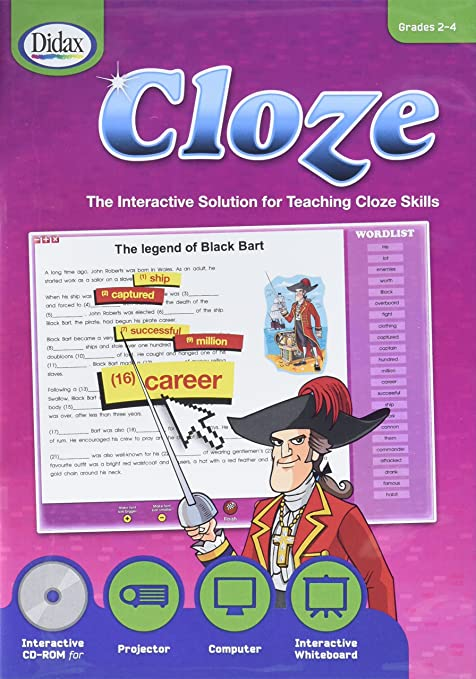 Amazon.com: Didax Educational Resources Cloze Interactive Activity ...