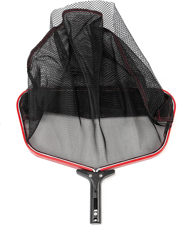 "Lightweight Dual Mesh Layer Swimming Pool Leaf Skimmer Net w// Durable Handle 18/"""