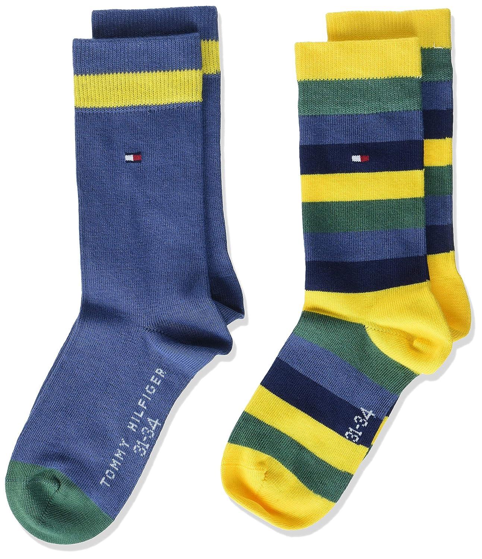 Tommy Hilfiger Th Kids Basic Stripe Sock 2 Paia, Calze da bambini e ragazzi 354009001_Jungen