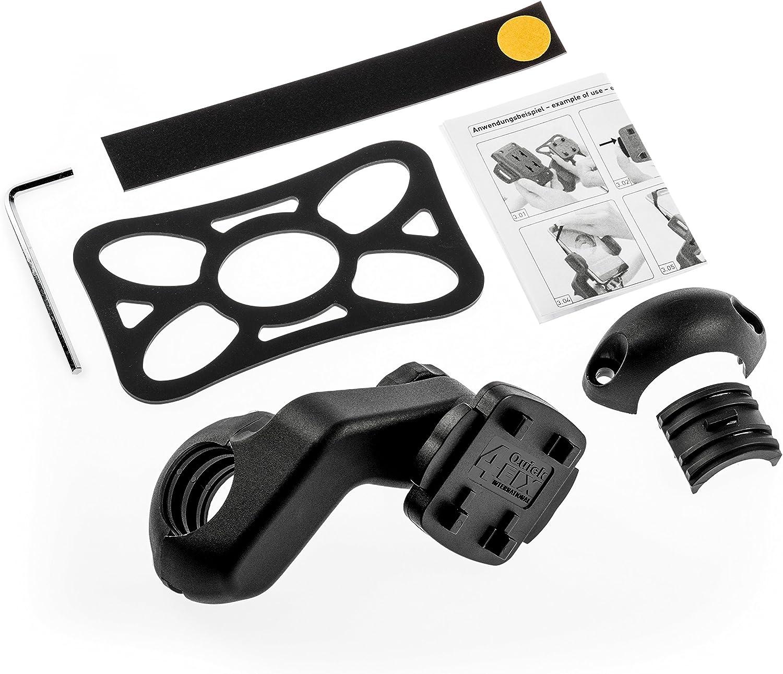 TAHUNA Uni Fix de angulados Manillar para Bicicleta, Color Negro, One Size: Amazon.es: Deportes y aire libre