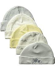 Gerber - Gorra para bebés y niñas (5 Unidades)