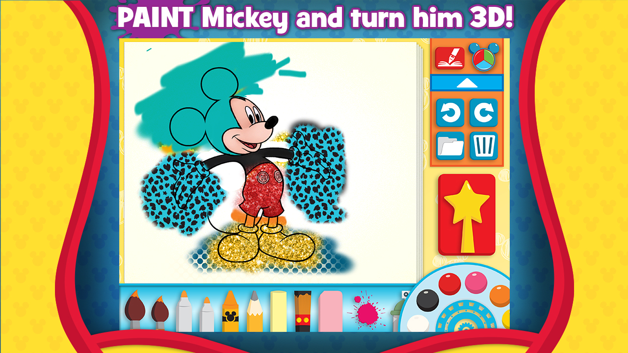 Amazon Mickey Mouse Clubhouse Color And Play Appstore For Android