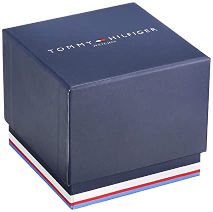 e61b32d8242 Amazon.com  Tommy Hilfiger Men s  TH 24 7  Quartz Resin and Leather Smart  Watch