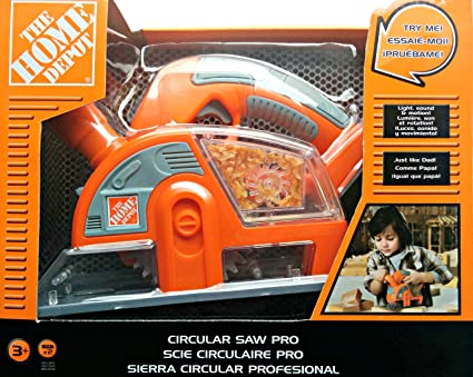 Buy The Home Depot Circular Saw Pro Toy Online At Low Prices