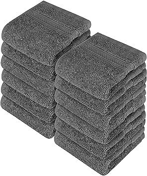 Utopia Towels - Juego de Toallas para la Cara - 700GSM Lavable en la Lavadora -