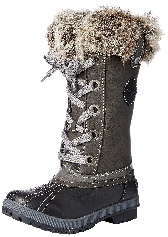 Sugar Women's Marlon Lace-up Snow Boot B076BTT7Z5 8 B(M) US|Black/Grey