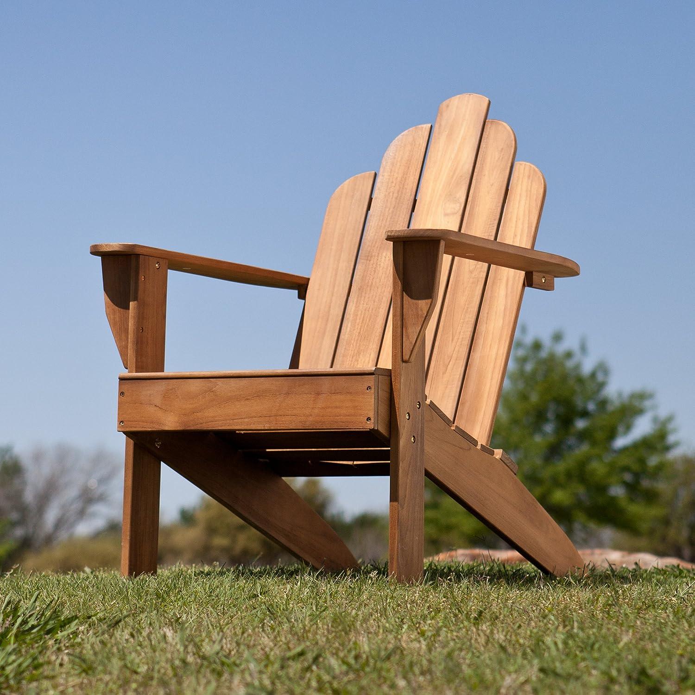 Amazon Teak Adirondack Chair Outdoor Patio Teak Wood Chair