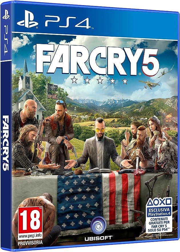 Far Cry 5 [Importación italiana]: Amazon.es: Videojuegos