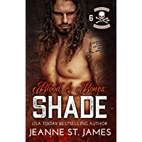 Blood & Bones: Shade (Blood Fury MC Book 6) (English Edition)