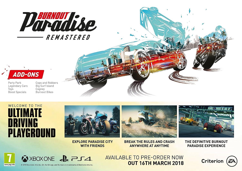 628472186d72 Burnout Paradise Remastered (Xbox One)  Amazon.co.uk  PC   Video Games