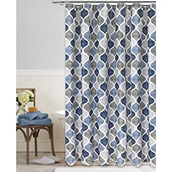 Amazon.com: Colordrift Priya 72-Inch x 84-Inch Shower Curtain: Home ...