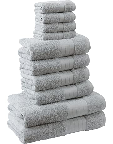 Dreamscene – lujo 100% algodón egipcio 10 piezas juego de toalla de baño Set de