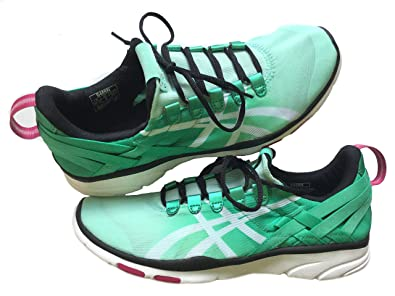 Asics Gel Fit Sana Women's Training Shoes MintWhiteBlack