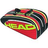 Head Elite Combi Racket Bag - Black/Red