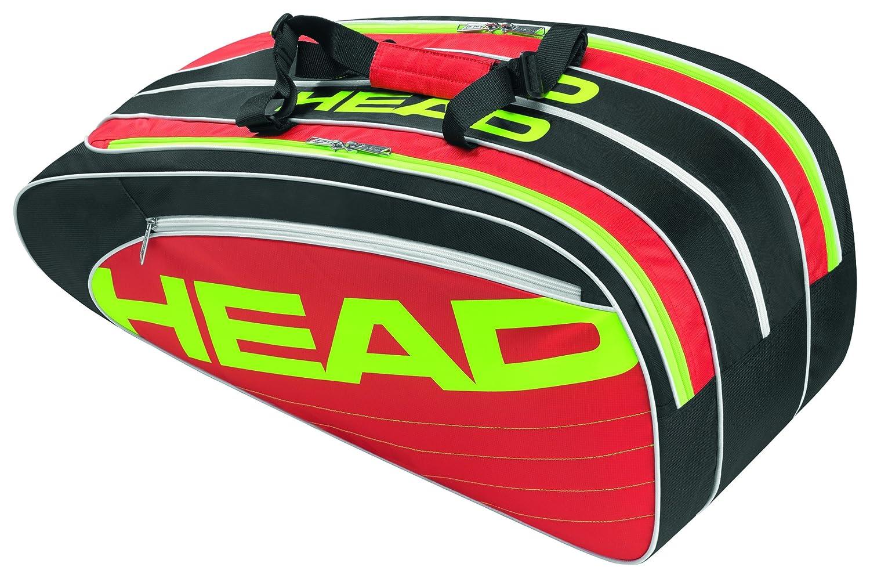 HEAD Elite Combi Racket Bag - Black Red  Amazon.co.uk  Sports   Outdoors 17174c2ed65a7