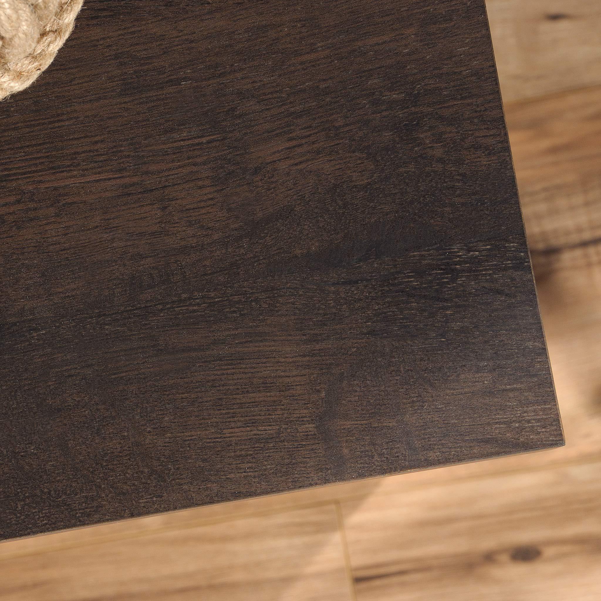 Sauder 422981 Costa Library Base, L: 31.30'' x W: 14.41'' x H: 30.00'', Coffee Oak Finish by Sauder (Image #8)