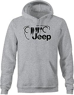 2de1ed01a Amazon.com: DIYCN Custom Jeep Hoodies, Personalized Jeep Sweatshirt ...