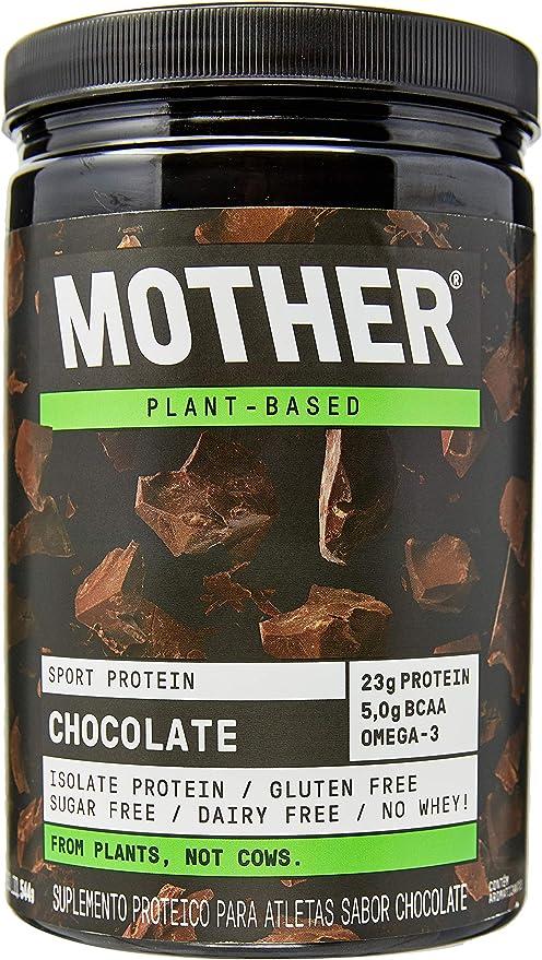 Proteína Isolada Vegan Sport Protein - Sabor Chocolate (544G), Mother