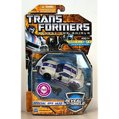 Transformers Reveal the Shield Deluxe Class Special Ops Jazz: Toys & Games