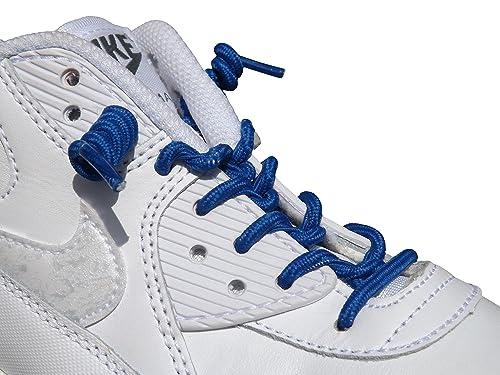 Zapatillas con cordones Rizados, elásticos, para no amarrar, para niños y mujeres pequeñas multicolor azul: Amazon.es: Zapatos y complementos