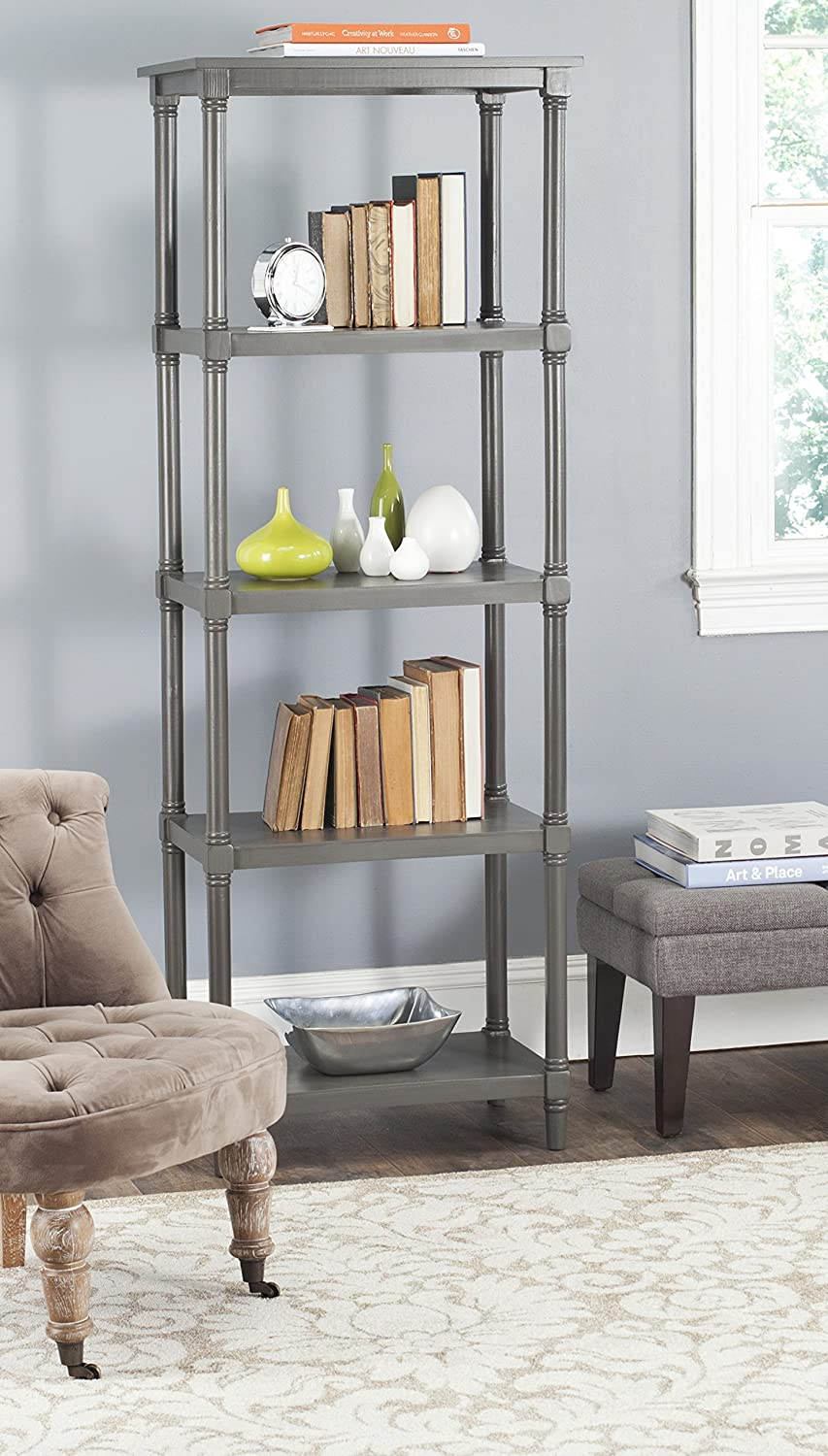 Safavieh American Homes Collection Odessa Grey 5 Tier Bookcase