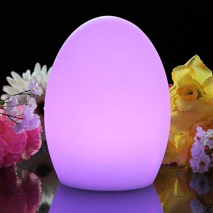 Amazon.com: PK Green Lámpara de estado de ánimo de huevo que ...