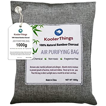Amazon.com: KoolerThings - Bolsa de carbón activado de bambú ...