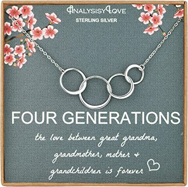 Tell your mom she/'s going to be a grandmother with this beautiful silver necklace! Coming Soon Grandma