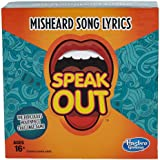 Hasbro Gaming Speak Out Expansion Pack: Misheard Song Lyrics
