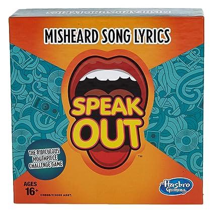 Amazon hasbro gaming speak out expansion pack misheard song hasbro gaming speak out expansion pack misheard song lyrics stopboris Gallery