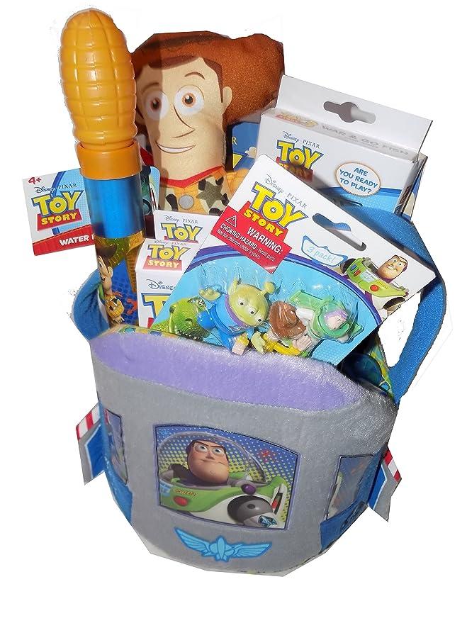 Cesta de regalo divertida de Disney Toy Story de lujo, ideal ...