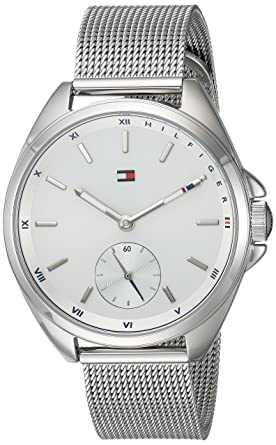effdbab1 Image Unavailable. Image not available for. Color: Tommy Hilfiger Women's  Casual Sport Quartz Watch with Stainless-Steel Strap ...