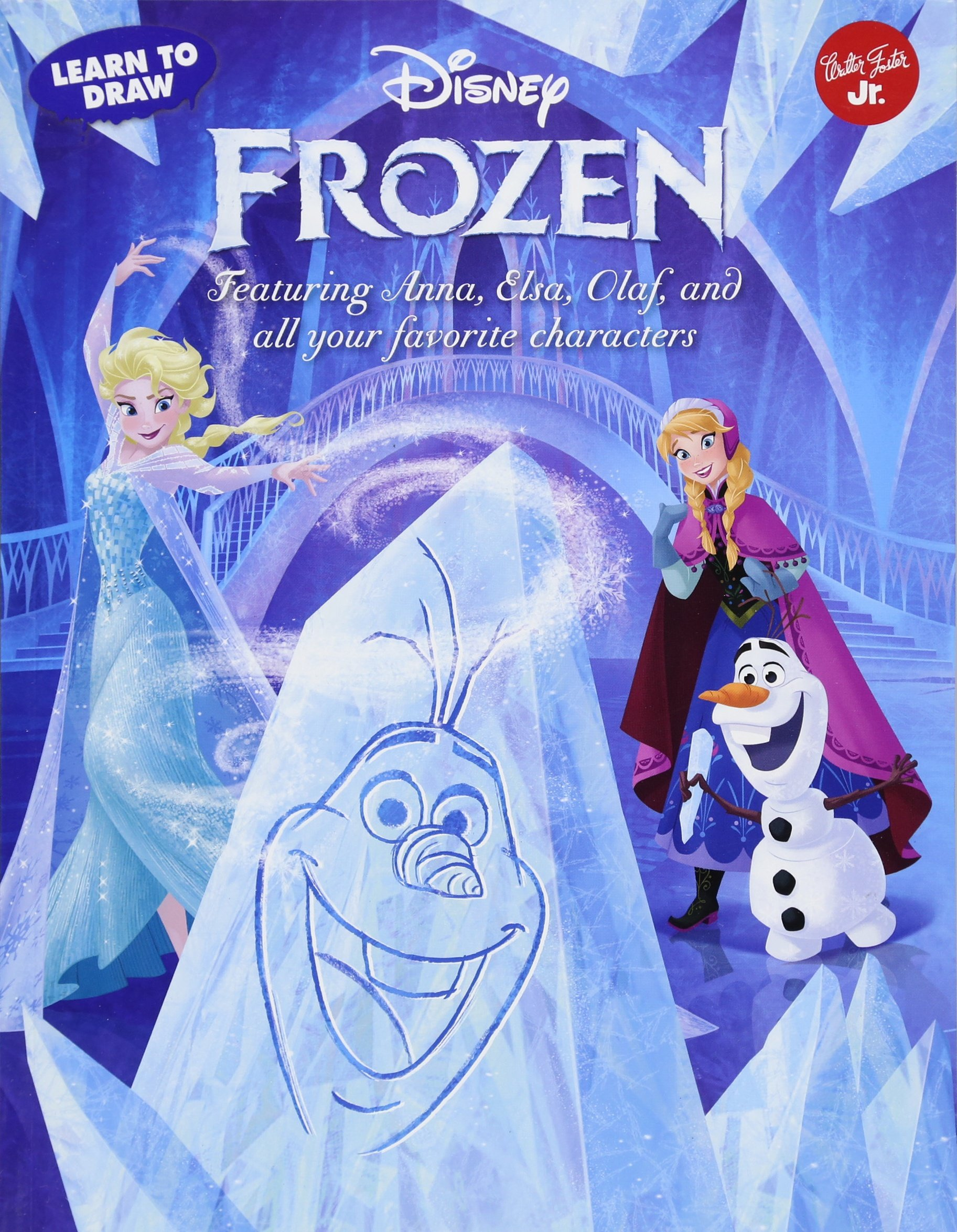 Read Online Learn to Draw Disney's Frozen: Featuring Anna, Elsa, Olaf, and all your favorite characters! (Licensed Learn to Draw) PDF