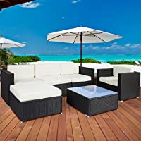 6PC Outdoor Patio Sofa
