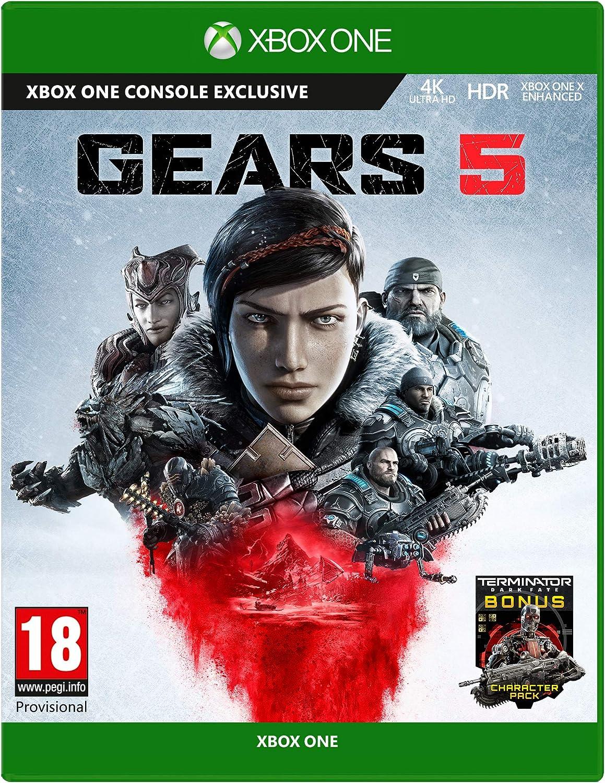 Gears 5 - Standard Edition - Xbox One [Importación inglesa]: Amazon.es: Videojuegos