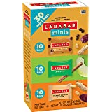 Larabar Minis Fruit and Nut Bars, Apple Pie/Peanut Butter Chocolate Chip/Peanut Butter Cookie, 23.4 Ounce