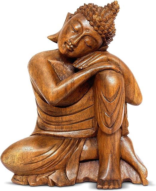ORIENTAL FURNITURE 12 Serene Reclining Buddha Statue