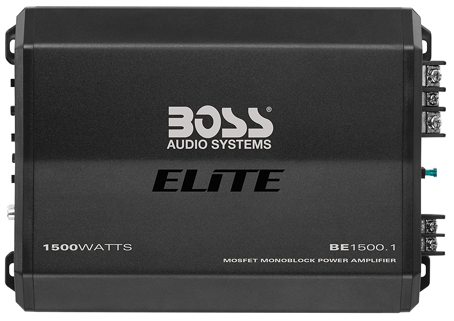 Class AB 2-8 Ohm Stable BOSS Audio Systems Elite BE1600.4 4 Channel Car Amplifier Mosfet Power Supply Bridgeable 1600 Watts Full Range