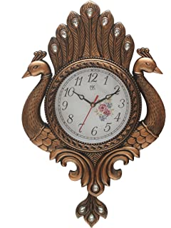 bazaar pirates peacock pendulum wall clock wall watch wall decor antique copper