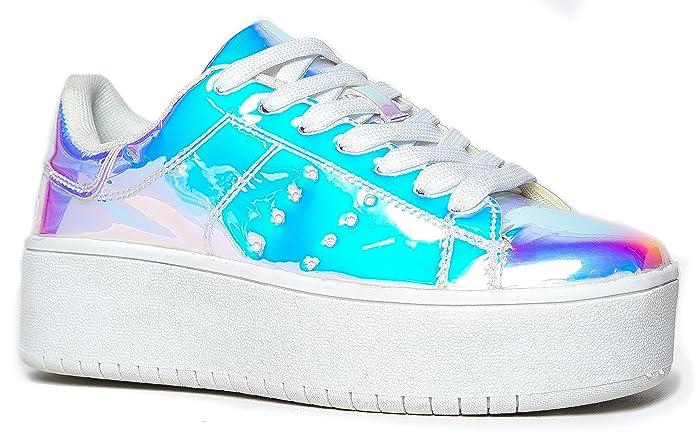 J. Adams Platform Lace-Up Sneaker